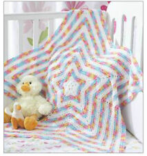 star baby blanket crochet  pattern
