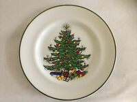 "New CUTHBERTSON ""Original Christmas Tree"" Decorative 8"" Salad Plate_Free Ship"