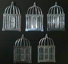 Birdcage Die-cut Items (Ideal for cardmaking, Topper and Scrapbooks)