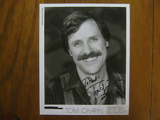 TOM  CHAPIN (National  Geographic  Explorer) Signed  8 x 10  Glossy  B & W Photo