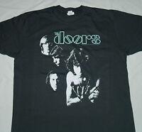 The Doors - Band Logo - T SHIRT S-M-L-XL-2XL Brand New - Official T Shirt