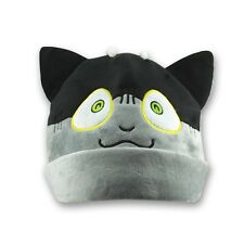 Soft  Anime Cap Blue Exorcist Ao Kuro Neko Rin Cosplay Plush Beanie Hat Plushie
