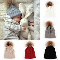 Cute Toddler Kids Girls/Boys Baby Infant Winter Warm Crochet Knit Hat Beanie Cap