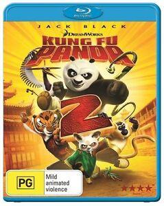 NEW SEALED Kung Fu Panda 2 Australian Blu-ray (Jack Black) Dreamworks FREE POST