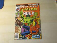 MARVEL TEAM-UP #55 SPIDER-MAN HULK 1ST JOHN BYRNE ART HIGHER GRADE LOOKS NICER