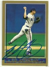 1998 Topps ED SPRAGUE Signed Card autograph BLUE JAYS 1992 WORLD SERIES