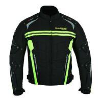 Motorbike Cordura Jacket Motorcycle Waterproof CE Armours Biker Textile Top