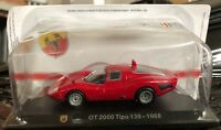 "DIE CAST "" OT 2000 TIPO 139 - 1968 "" + TECA RIGIDA  BOX 2 SCALA 1/43"