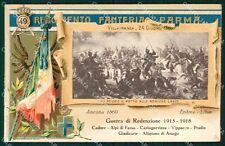 Militari 49º Reggimento Fanteria Villafranca 1915 1918 cartolina XF4989