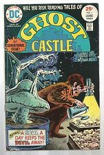 Tales of Ghost Castle 1  May-Jun 1975, DC Comics 1st Lucian The Librarian