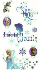 FROZEN wall stickers 8 decals Disney Snow Queen Anna Elsa Olaf snowflakes decor