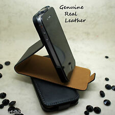 CASE for Various Phones - Genuine Leather FLIP STAND Shockproof Magnetic Cover