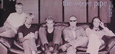 THE VERVE PIPE 96 VILLAINS PERFORATED TOUR PROMO POSTER