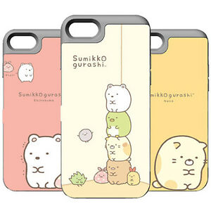 Genuine Sumikko gurashi Card Bumper Case Galaxy S7 Case Galaxy S7 Edge Case