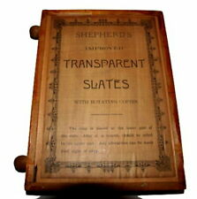 1875 Shepherd's Transparent Slates in Wood with Rotating Copier