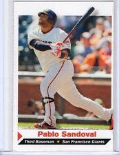 2013 Sports Illustrated Kids baseball PABLO SANDOVAL Giants Si Sifk