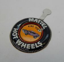 Redline Hotwheels Button Badge Metal Hong Kong King 'Kuda R17179