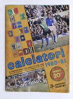 Album Figurine Panini Calciatori 1980 / 1981 Campionato Italiano Calcio Completo