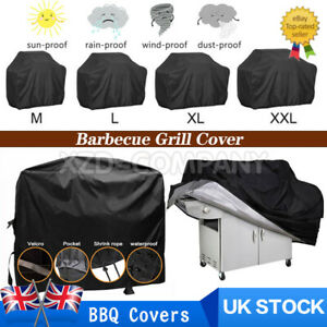 Heavy Duty BBQ Cover Waterproof Barbecue Grill Protector Outdoor Covers M/L/XL