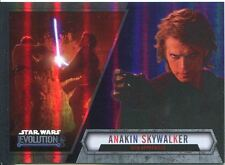Star Wars Evolution 2016 Purple Parallel Card #6 Anakin Skywalker - Sith Appren