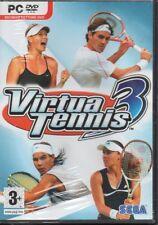 VIRTUA TENNIS 3 ITALIANO PC DVD ROM ITA NUOVO