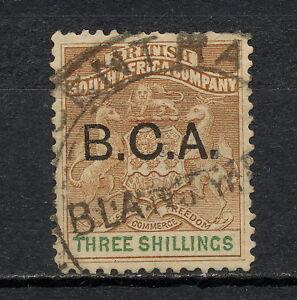 NNAC 158Z  BRITISH CENTRAL AFRICA NYASALAND 1891 - 1892 USED MICH 9
