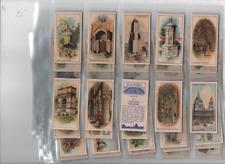 cigarette cards famous buildings C.W.S 1935 full set