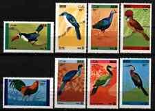 DHUFAR / OMAN 1972 - SET BIRDS MNH