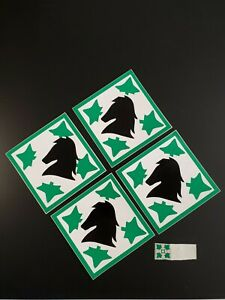 ARMY 4th Infantry Division Fort Carson Colorado Springs Sticker Decal Calvary x4