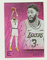 2019-20 Panini Chronicles ESSENTIALS PINK PARALLEL #232 ANTHONY DAVIS Lakers