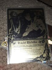 Naruto Card Itachi Uchiha Super Rare Black & Gold FOIL 737 CCG tcg Moderate play