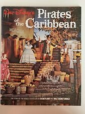 Pirates of The Caribbean Pictorial Souvenir Book 1967