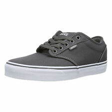 47fc0518c8 VANS Atwood Canvas Fashion Skater Shoes Plimsolls Grey Navy Black White  Trainers
