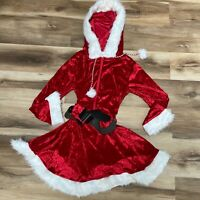 Amscan Sassy Red Santa Costume for Women Christmas Costume Large