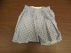 Hanes Givvies Blue Atomic Vtg '50s NEW Boys Sz 8 Bias Cut Cotton Boxer Underwear
