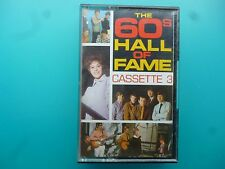 "VARIOUS ARTISTS  "" THE 60'S HALL OF FAME CASSETTE 3 ""  CASSETTE"