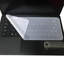 Universal Silikon Tastaturschutz Klar Haut für Laptops Notebooks 13'' - 14,1''