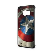Captain America Shield Phone Case Cover, Fits Samsung - Various Models Available