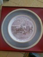 Caverswall Derby 200 Anniversary Bone China Plate 188/1000 Gilbey Racing Rare