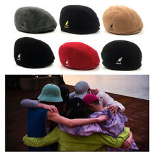 Mens Ladies Beret Hat Vintage Classic Newsboy Seamless Wool Winter Flat Cap