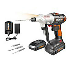 Worx Switchdriver Electric Cordless Drill and Driver w/ Rotating 20V Chucks