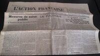 Diario Nacionalista ACCIÓN Francesa 5 Mayo 1934 N º 125 ABE