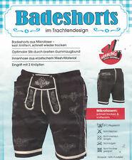 Badeshorts Trachtendesign Badehose Lederhose  Badehose Badeshort XL XXL M L