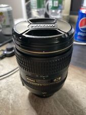 Nikon AF-S NIKKOR 24-120mm f/4G ED VR Camera Lens