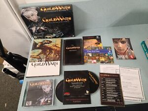 2005 Original Guild Wars COLLECTOR'S EDITION (No Headset) PC Video Game USED