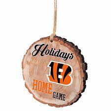 Cincinnati Bengals Christmas Tree Ornament Stump New - Holidays are a Home Game