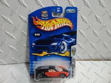 2003 Hot Wheels #30 Red/Black Bugatti Veyron