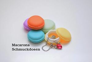 Macarons Schmuck Geschenk Box Dosen*****fünf Farben zur Auswahl*****