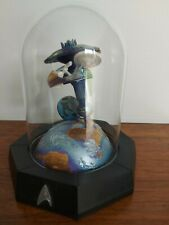Franklin Mint Star Trek Sculpture Limited Edition Glass Dome Search For Spock