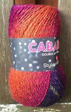 Stylecraft Cabaret DK glitz sparkle yarn 100g ball - Autumn Dazzle